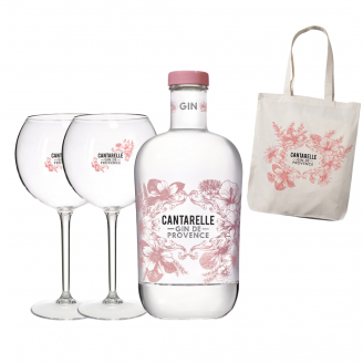 Coffret Cadeau Cantarelle Gin de Provence